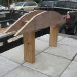 This is the jig that will be used to form the archway.