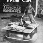 Vintage hover craft cart
