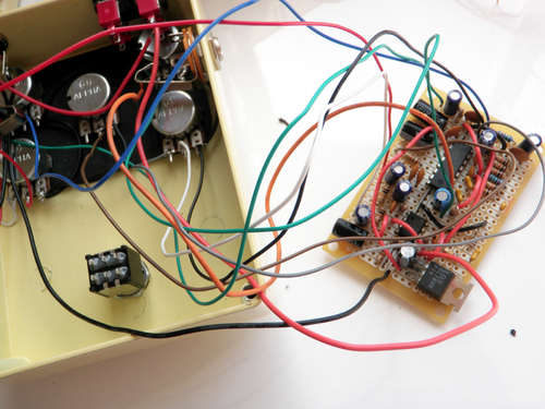 Connect The Front Panel on Digital Delay Pedal Schematic