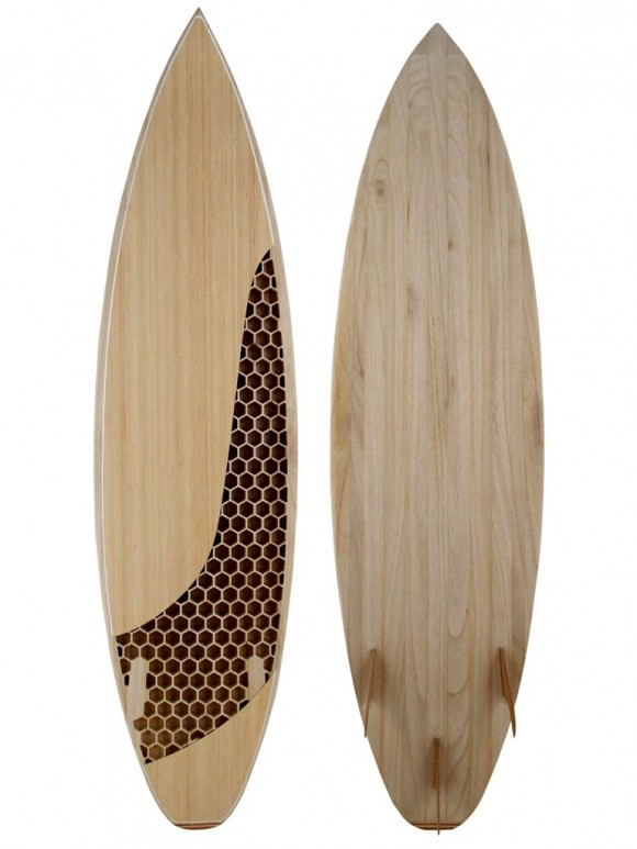 Wooden honeycomb surfboard taking board making to the next level related posts pronofoot35fo Image collections