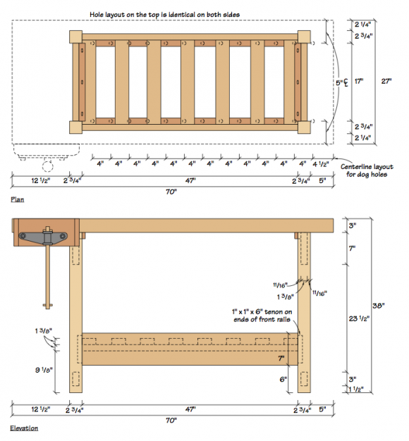 Uk Wood Design Furniture Choice Wood Workbench Free House